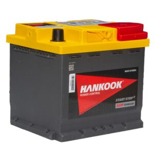 Batterie AGM de Loisirs à Double Usage Hankook SA55020