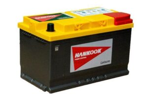 Batterie AGM de Loisirs à Double Usage Hankook P94RAGM