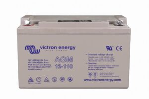 Batterie AGM 12V 110Ah Victron Energy - BAT412101084