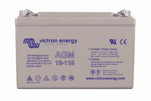 Batterie AGM 12V 110Ah Victron Energy (M8) - BAT412101085